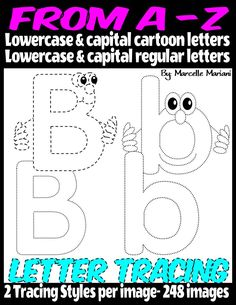 ALPHABET LETTER TRACING FROM A-Z (248 IMAGES) | Teach In A Box Tracing Pictures, Alphabet Pictures, Number Formation, Letter Formation, Cartoon Letters, Alphabet Tracing, English Language Arts, Lowercase A, Little People