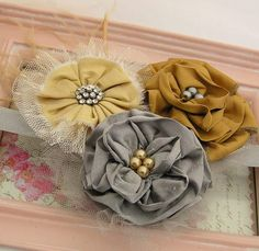 fabric flower inspiration