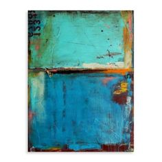 "Erin Ashley, ""Matchbook Blues"" Canvas Wall Art - BedBathandBeyond.com"