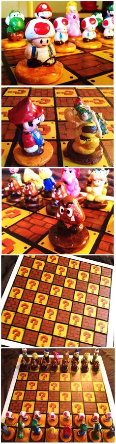 Oh-nothing--I-just-gave-the-best-gift-ever--Handmade-Mario-chess-set.jpeg