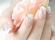 Nails - classic french manicure with a twist. Nails - classic french manicure with a twist. Nails - classic french manicure with a twist. French Nail Designs, Nail Designs Spring, Nail Art Designs, Fingernail Designs, Nail Manicure, Gel Nails, Acrylic Nails, Pink Nails, Sparkly Nails