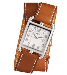 Hermes Cape Cod Watch...I like this, it is simple yet beautiful and I could totally see this on my wrist!