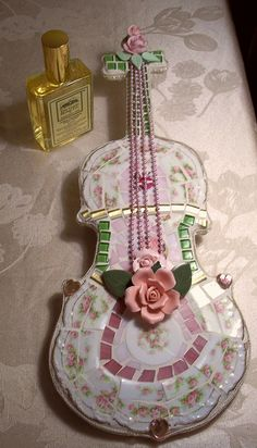 SOLD !!!!! Another one of my violins, just finished by Viktoria's Shabby Cottage, via Flickr