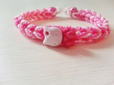 =^..^=~Hello Kitty Band Bracelet- =^..^New charm and bands Bonus **