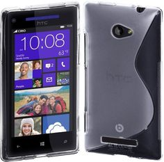 Bargain Cimo S-Line Back Case Flexible TPU Cover for HTC Windows Phone 8X (AT & T, T-Mobile, Verizon)