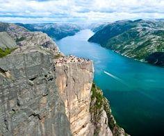 Hike to Preikestolen (Pulpit Rock), Norway