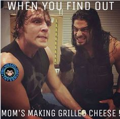 Ambrose and Reigns must be HUNGRY... NOW IF I CAN JUST GET THEM THIRSTY<3<3<3<3