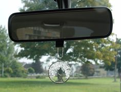 Clear Quartz Tree of life Gemstone Crystal Rear View Mirror Charm Car Hanging New Driver Gift Life Car, Car Rear View Mirror, New Drivers, Good Energy, Clear Quartz, Crystals And Gemstones, Tree Of Life, Etsy Handmade, Personalized Gifts