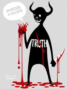 Devil stopped the bleeding.