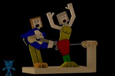 Singing Out Loud Wooden Toy