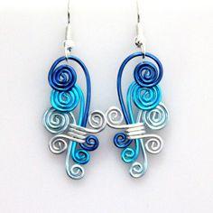 CSS orecchini a spirale