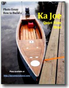 Spira International Inc - Ka-Joe Wooden Boat Plans