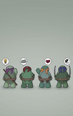 Tmnt Wallpaper, Cartoon Wallpaper, Ninja Turtles Art, Teenage Mutant Ninja Turtles, Nija Turtles, Turtle Background, Superhero Poster, Tmnt 2012, 3d Prints