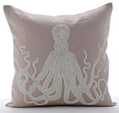 Mocha Throw Pillows Cover for Couch, Beaded Octopus Sea C... https://www.amazon.com/dp/B016H8U274/ref=cm_sw_r_pi_dp_x_SllFyb64ZH8C1