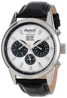 Ingersoll IN1214SL Gatsby Men's Watch Automatic Silver Dial – Time Machine Plus