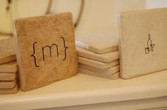 Tabletop Flare: 15 Coasters with Personality!
