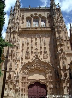 Puerta del Patio Chico. Catedral nueva de Salamanca