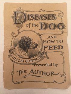 Vintage Paper Advertisement Glover's Imperial DOG Remedies Quack Medicine VET    eBay