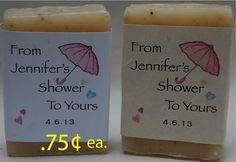 Bridal shower favorswedding favorsbaby shower by RogueValleySoap, $36.00