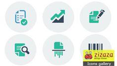 #Icon set - Business - Zizaza item for free #icons #iconset #webdesign