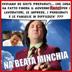 il popolo del blog,: beata minchia Vox Populi, King John, Italian Style, Funny Moments, Caricature, Funny Pictures, Jokes, Image, Bonsai