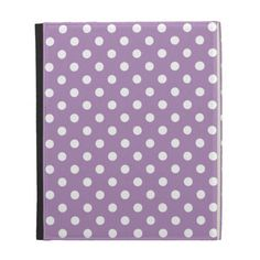 African Violet Purple Polka Dot iPad Case We have the best promotion for you and if you are interested in the related item or need more information reviews from the x customer who are own of them before please follow the link to see fully reviewsHow to          	African Violet Purple ...