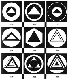 The triangle, and its variants. (1932).