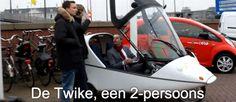 Twike: de overdekte elektrische autofiets