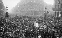 L'armistice (11 novembre 1918)