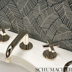 5007534 Abstract Leaf Metallic Slate Schumacher Wallpaper you can purchase this pattern online for less plus samples available. Thanks for shopping Mahones Wallpaper Shop for pattern 5007534. Remember Mahones Wallpaper Shop only sells 1st hand materials straight from Schumacher. Bathroom Wallpaper Inspiration, Inspirational Wallpapers, Schumacher, Slate, Abstract, Pattern, Metallic, Home Decor, Shopping