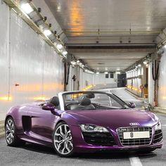 Perfect Purple Audi R8!