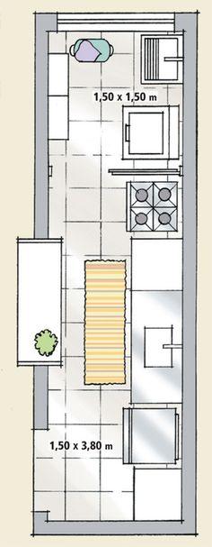 Cozinha e lavanderia econômicas e bem equipadas | CASA.COM.BR