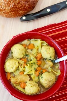 Chicken and Matzo Ball Soup Recipe - The Rebel Chick Matza Ball Recipe, Chicken Matzo Ball Soup Recipe, Chicken Soup Recipes, Easy Soup Recipes, Pasta Recipes, Dinner Recipes, Recipe Pasta, Kosher Recipes, Tips