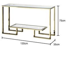 Angular Glass Top Console Table in Antique Bronze Angular Glass Top Console Table in Gold Steel Furniture, Plywood Furniture, Table Furniture, Furniture Design, Bedroom Furniture, Glazing Furniture, Console Table, Console Tv, Marble End Tables