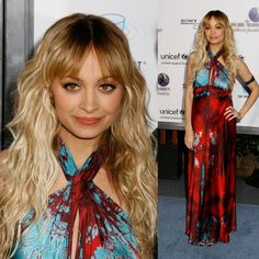 Yay or Nay: Nicole Richie's tie-dye boho look at UNICEF event