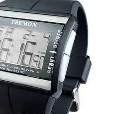 Men's Watch Sports Multi-Function LCD Digital Calendar Wrist Watch Cool Watch Unique Watch Fashion Watch 481983 2017 – $6.99