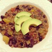 Lentil and Quinoa Chili