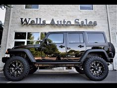 Custom Jeep Wrangler Wells Auto Sales