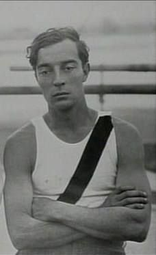 Buster Keaton ~~ loved his movies as a kid, I watched him whenever they showed his old films on t.v....and he taught Lucy how to be a physical comic.