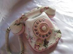 Discount Retro phone. Antique phone. by VintageShabbyRustick
