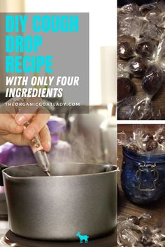 Homemade Cough Drops Using Essential Oils. This recipe is so easy, and contains only a few natural ingredients. This cough drops DIY recipe is made from only honey, butter or coconut oil, and essential oils. You can not find a more natural recipe for your natural health first aid kit. Homemade honey lemon cough drops are so easy to make, and you can have them on hand for cold and flu season. It's a great essential oil use that is an easy enough essential oil recipe for beginners! Essential Oils For Cough, Essential Oil Uses, Essential Oil Diffuser, Holistic Healing, Natural Healing, Sore Throat And Cough, Natural Recipe, Oil Recipe, Honey Butter