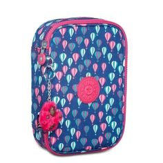 Estojo 100 Pens Azul e Rosa Balloon PR Kipling