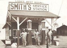 Vintage Service Station By Doughboy2518 Via Flickr Old