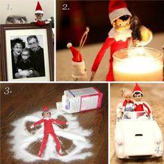 Fun & Easy Elf on the Shelf ideas for this Christmas