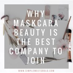 Maskcara Beauty is quickly becoming one of the top direct sales companies to join! I've blogged 5 reasons ...