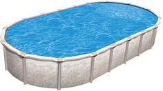 """Magnus 12' x 23' Oval Above Ground Pool Kit with Premier Package 