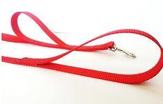"Dog Traffic Leash, 5 ft Heel Leash, Training Leash, Dog Lead With 2 handles 3/4"" Wide"