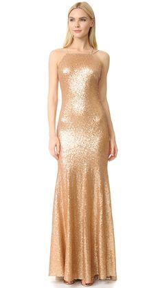 148879529015 Shop Theia Jessica Sleeveless Mermaid Gown at Modalist Mermaid Gown