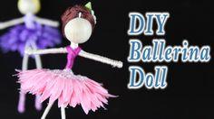 DIY Ballerina Fairy Doll