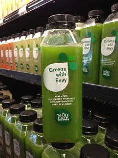 I love this juice so so so much. So much that $7 for a bottle of juice seems perfectly reasonable to my penny pinching self. (Whole Foods store brand raw cold-pressed juice)